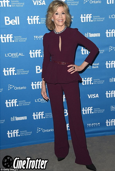 Jane Fonda in Elie Saab