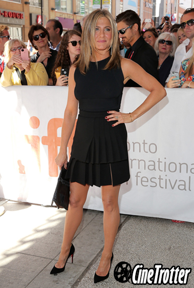 Jennifer Aniston in a little black dress