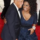 Oprah in an Oscar de la Renta