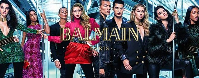 Balmain and H&M Collaboration Video Campaign starring Kendall Jenner & The Kendalls