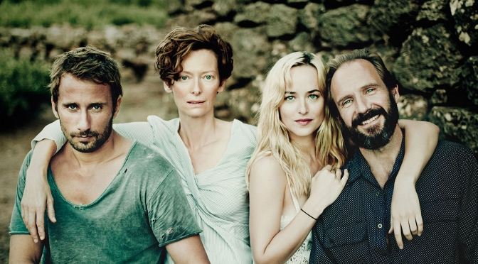Swinton & Fiennes in A Bigger Splash | 13 May 2016