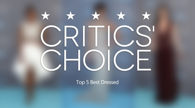 Who were the Fashion Winners at the 2016 Critics' Choice Awards?