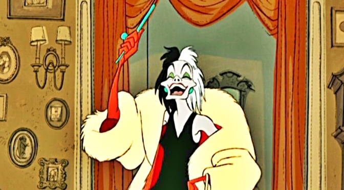 This is Cruella De Vil in The New Live Action Disney Movie