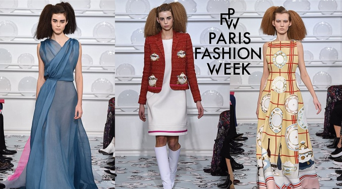 Imagination is served at Schiaparelli's 2016 Fashion Show