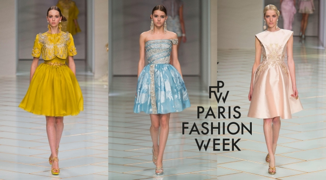 Guo Pei's First Couture Show in Paris