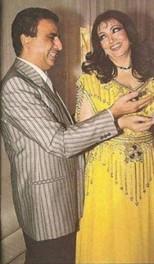 William Khoury with Samira Tawfik