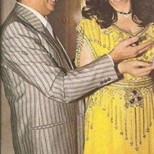William Khoury with Samira Tawfik
