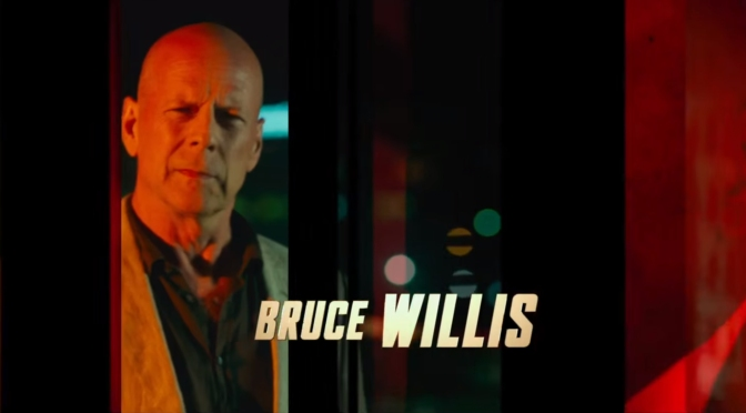 Bruce Willis in 'Precious Cargo' this April!