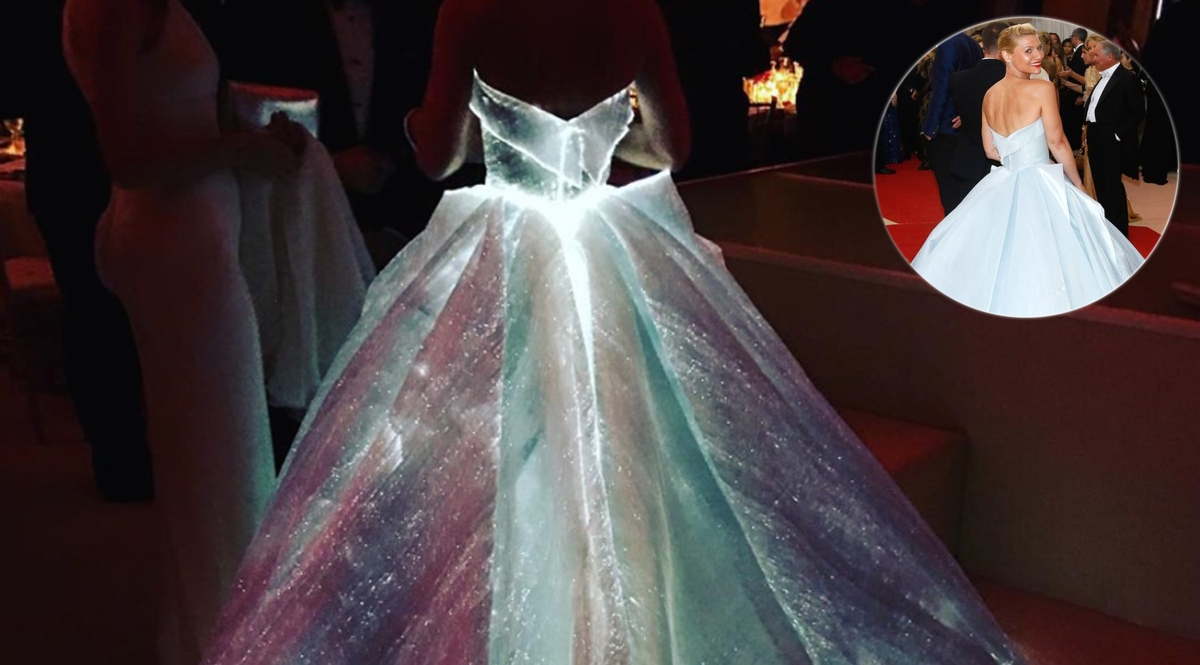 When Technology Met Fashion at the 2016 Met Gala, Claire Danes in Zac Posen Made History!