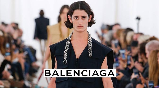 A Lebanese Model Hits Balenciaga's Runway!