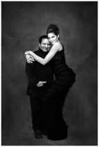 Stephanie Seymour and Azzedine Alaïa (2010) | Photographer: Gilles Bensimon ©