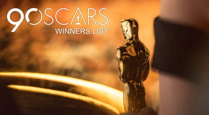 Full 2018 Oscar Winners List: The Shape of Water and Dunkirk on Top of the List!